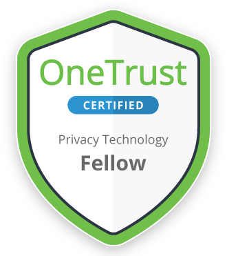 One Trust - Certified Privacy Technology Fellow badge